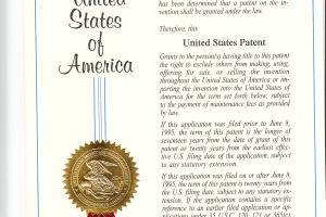 Florenz obtained patents in the U.S. A. & Canada